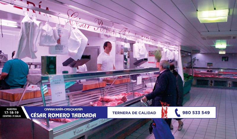 Carnicería-Casquería César Romero Taboada