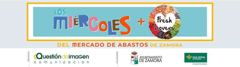 Los Miércoles + Freshlovers en el Mercado de Abastos de Zamora